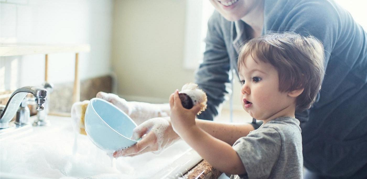 5 Mẹo Vặt Hay Khuyến Khích Con Làm Việc Nhà Hiệu Quả