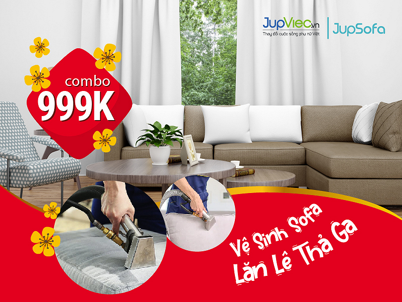 Vệ Sinh Sofa - Lăn Lê Thả Ga