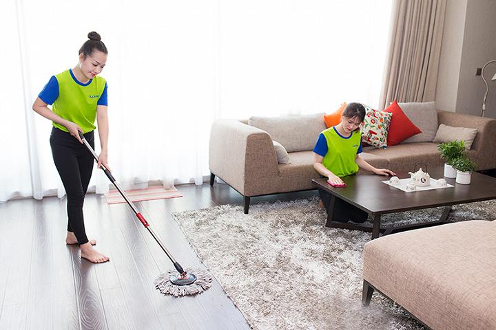 Dịch vụ tổng vệ sinh nhà cửa của JupViec