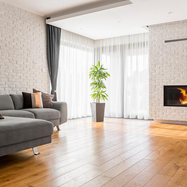 Sàn gỗ được nhiều gia đình sử dụng vì tính thẩm mỹ cao