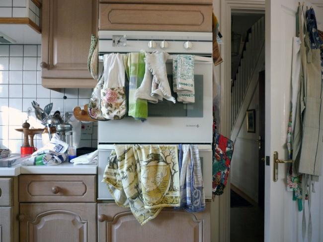 Đừng quên giặt khăn lau bếp hàng ngày nếu muốn nhà sạch