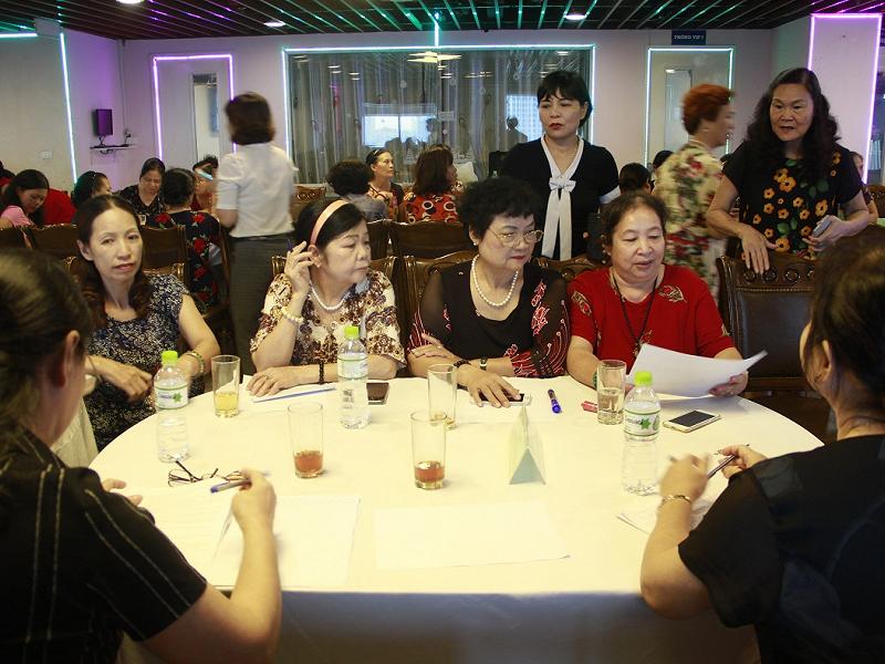 Hội thảo chia sẻ kinh nghiệm hoạt động Ban chủ nhiệm Câu lạc bộ Lao động giúp việc gia đình