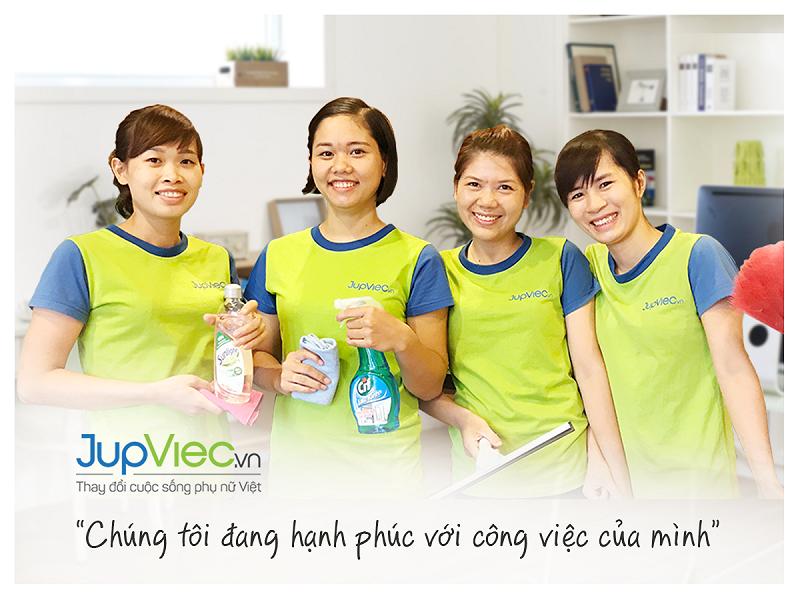 Ứng dụng JupViec giúp việc tìm giúp việc trở nên dễ dàng hơn