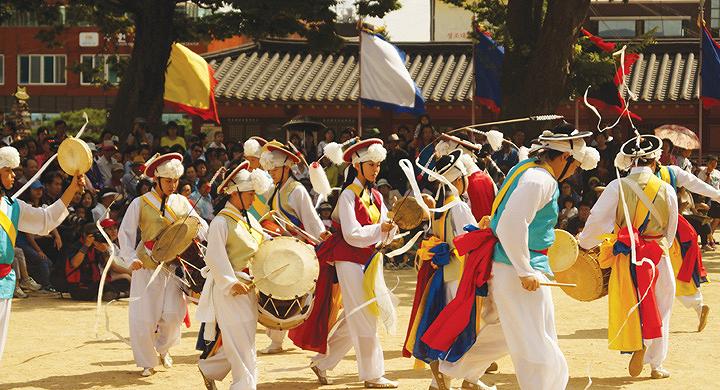 Các quốc gia có Tết Trung Thu: Hàn Quốc